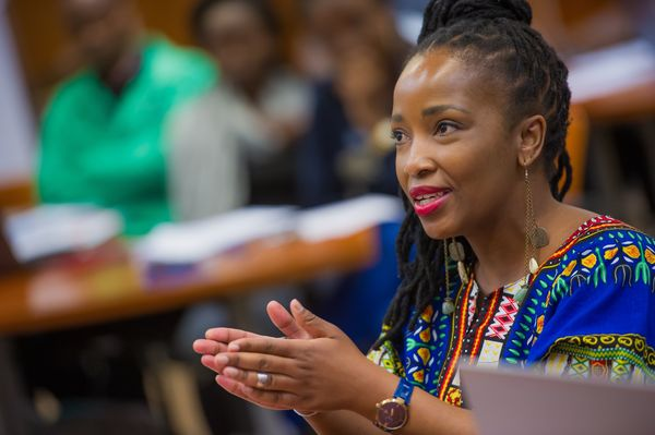 Lerato Tshabalala was a Mandela Washington Fellow for Young African Leaders at Notre Dame through the Initiative for Global Development