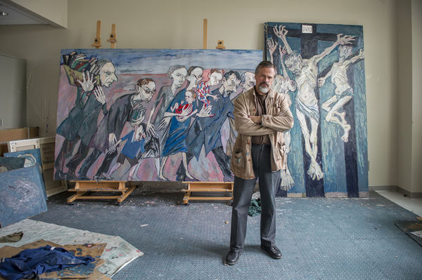 Maxim Kantor, Russian artist and Director's Fellow at the Notre Dame Institute for Advanced Study