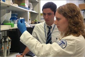 Notre Dame Students on the Front Lines of Medical Research