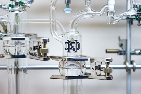 Scientific Glassblowing at Notre Dame Supports Research, Discovery Across Many Fields
