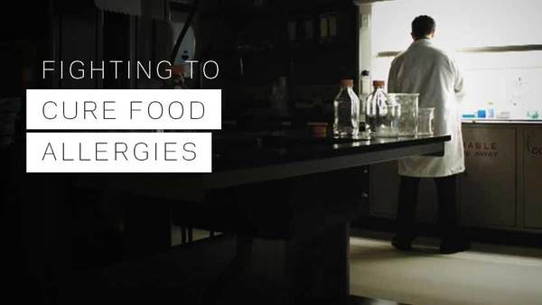 Fighting to Cure Food Allergies