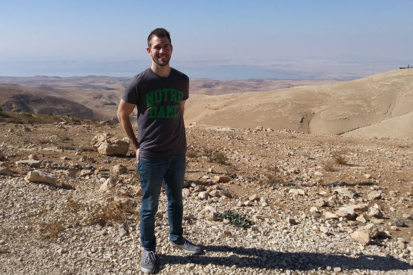 Andrew O Connor In Jordan