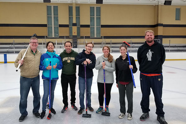 Laser Broomball