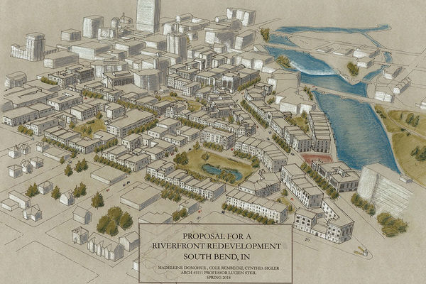 Riverfront Redevelopment South Bend Feature